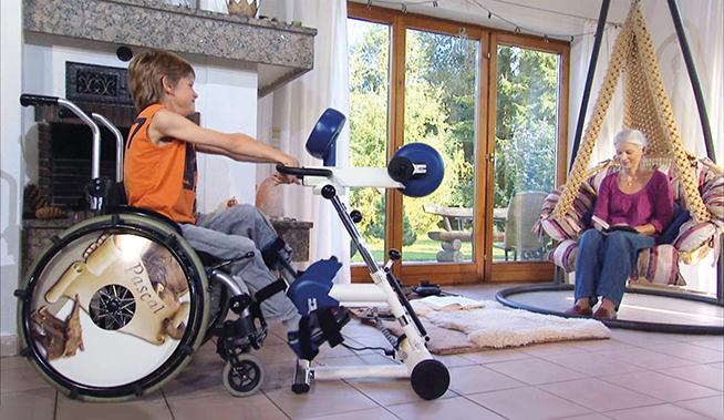 MOTOmed gracile12 - аппарат для проведения активно-пассивных тренировок с детьми