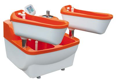 Четырехкамерная ванна струйно-контрастная и электрогальваническая Tasman/EN