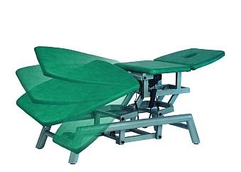 Варианты положения ножной секции стола Granit